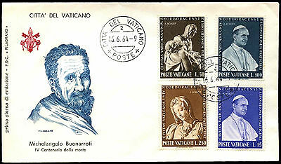 Vatican City 1964 New York Worlds Fair FDC First Day Cover #C38678