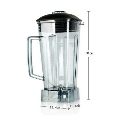 Additional ABS Spare Jug for Commercial Blender Container Stainless Steel Blade