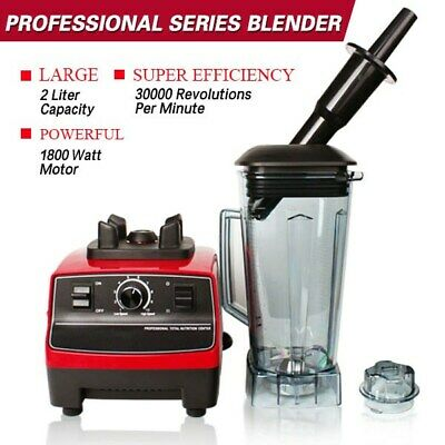 New 1800W Home Use Blender 2.0L Food Processor Mixer Smoothie Juicer Ice Crusher
