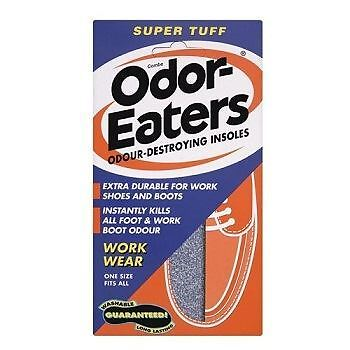 Odor-Eaters Insoles Super Tuff x 2 Pack