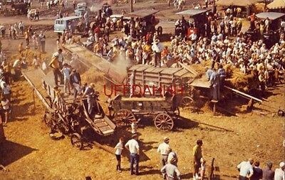 MIDWEST OLD SETTLERS & THRESHERS, MT. PLEASANT, IA. 19th century thresher