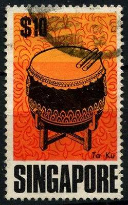 Singapore 1968-73 SG#115, $10 Definitive Used #D38069