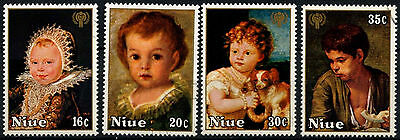 Niue 1979 SG#278-281 Year Of The Child Cto Used Set #D38007