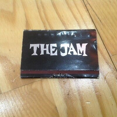 The Jam Very Rare Book Of Promo Matches Printed Signatures Mod Punk The Who