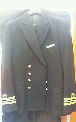 Royal Navy Officers Gieves and Hawkes No.1 tunic Lieutenant Commander Size 42
