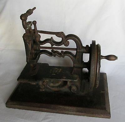 Pretty Little Antique New England Style Sewing Machine