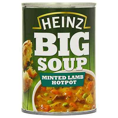 Heinz Minted Lamb Hotpot Big Soup 400 g (Pack of 12)