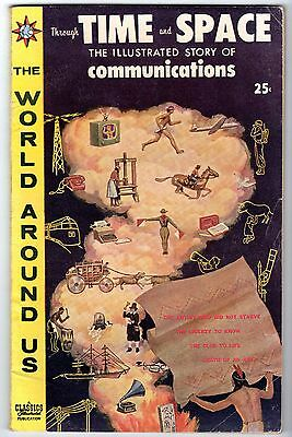 World Around Us #20 with The Illustrated Story of Communications, Fine Cond.