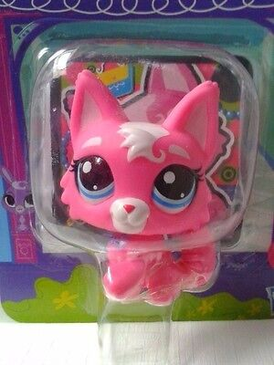 Littlest Pet Shop LPS #3561 Pink & White Wolf NEW