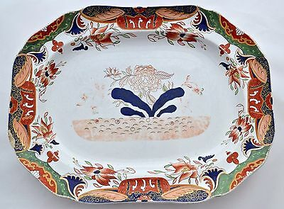 Antique Copeland Spode Large Platter - Imari Pattern No. 7829 C.1851-85