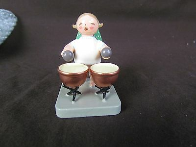 Wendt Kuhn Musician Angels Green Wing Orchestra Kettle Drum Germany Wooden