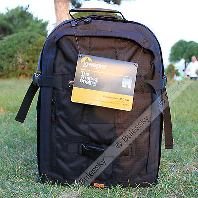 Lowepro Pro Runner 350 AW DSLR Camera Bag Backpacks Case with All Weather Cover