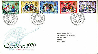 21 NOVEMBER 1979 CHRISTMAS POST OFFICE FIRST DAY COVER BUREAU SHS (a)