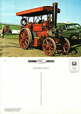 Aveling & Porter Tractor Unused Colour Postcard By Denis D 218 89