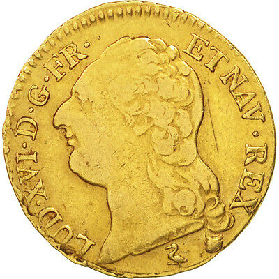 [#480293] France, Louis XVI, Louis d'or à la tête nue, 1786, Paris, TB+, Or