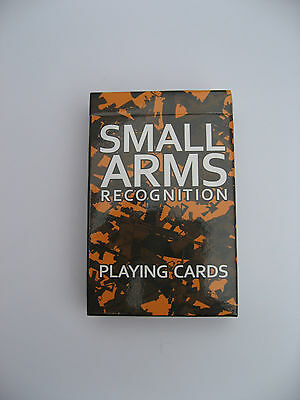 Playing Cards  Small Arms Recognition Deck Of Cards  Gift Playing Cards
