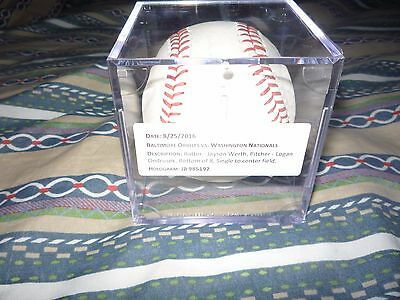 Jayson Werth Game-Used Baseball August 25, 2016 Vs Baltimore Orioles