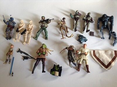 Star Wars Attack of the Clones figures 2001