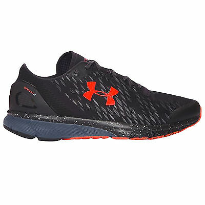 Under Armour UA Mens Charged Bandit 2 Night Running Gym Shoes Trainers - Black