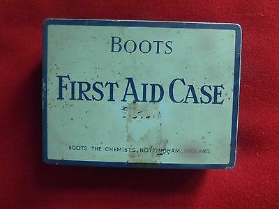 Vintage Boots  First Aid Case Incl.contents