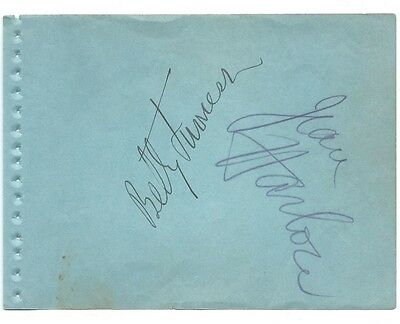 Jean Harlow  Autograph   On Album Page Offers Considered