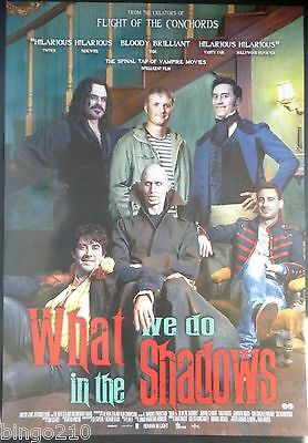 What We Do In The Shadows 1 Sheet Poster Jemaine Clement Flight Of The Conchords