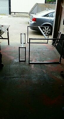 Industrial Chic / Retro Style Steel Table Frame And Bench Frame