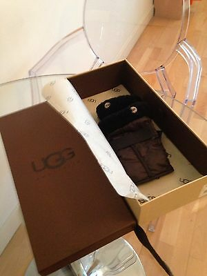 Ugg Finger Less Mitts/Gloves With Box