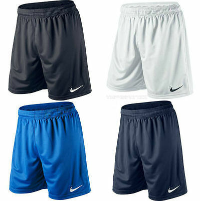 Nike Park ll Dri Fit Mens Adult Sports Football Shorts Black Red Navy White Blue