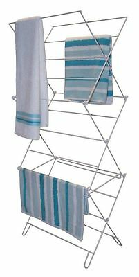 3 Tier Cloth Laundry Concertina Clothes Cloths Airers Horse Dry Dryer Airer New