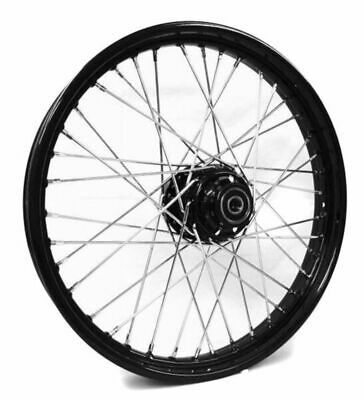 front 21 x 2 15 40 spoke black rim hub wheel harley wide glide Rear Drum Brakes front 21 x 2 15 40 spoke black rim hub wheel harley wide glide softail dyna 41mm