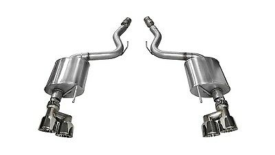 Corsa Performance 14336 Touring Axle-Back Exhaust System Fits 15-16 Mustang