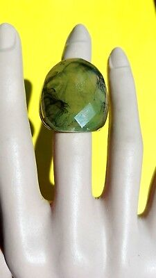 Size 8,Cocktail,party, resin women Ring. Handmade item! Free USA shipping!(P-19)