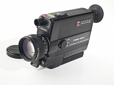 Canon 310XL Super 8 Movie Camera - 1.0 / 8.5-25.5mm Macro Lens - tested - exc.+