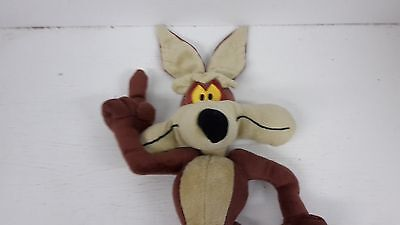 BOOTS 'LOONEY TUNES' SOFT TOY, 'WILEY COYOTE',13ins/33cms,NO TAGS, ONLY LABEL