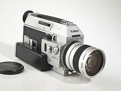 Canon Auto Zoom 814 Super 8 Movie Camera - 1.4 / 7-60mm Lens - tested - exc.