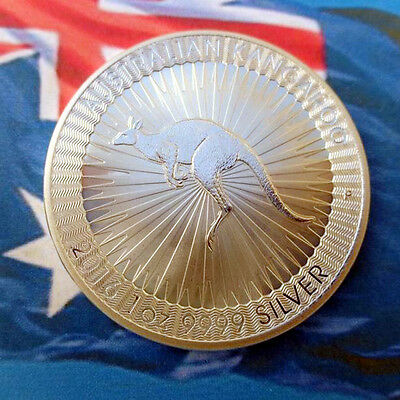 1oz Commemorative Silver Plated Coin .. 2016 Australian Kangaroo