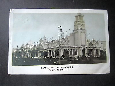 Franco-Brisitish Exhibition, 1908. Palace Of Music. Posted 1908.