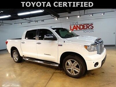 2013 Toyota Tundra Limited 4X4 V8 NAVIGATON SUNROOF HEATED LEATHER CREW MAX CERTIFIED LOADED CALL NOW