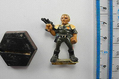 MAJOR MAGNUM Metal Rogue Trooper Judge Dredd Miniatures Painted 40K 1980s E1d