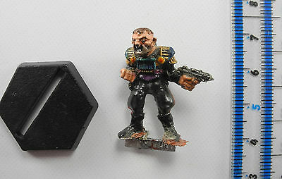 TRAITOR GENERAL Metal Rogue Trooper Judge Dredd Miniatures Painted 40K 1980s E4a