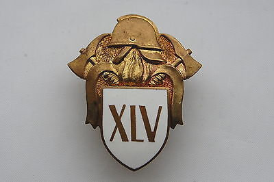 Estonia Post WWII 45 Years of Service Firefighters Badge Nice Grade !!!!!