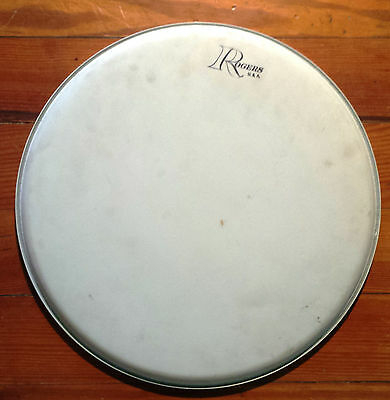 """Vintage Rogers 13"""" Un-hit drum head never played on"""
