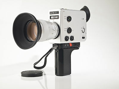 Nizo 801 Macro -  Super 8 Movie Camera - Variogon 1.8 / 7-80mm - tested - exc.+