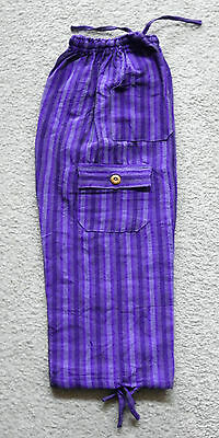 Made In Peru Cotton & Rayon Casual Colorful Baggie Pants Children Size #101132
