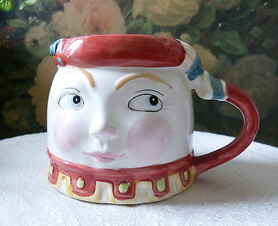 Shafford Mother Goose Series Humpty Dumpty Figural Cup Tempest Co. 1986