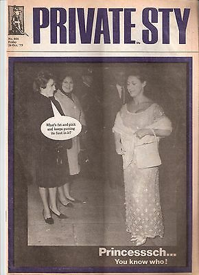 Private Eye Mag # 466 26 October 1979 HRH Princess Margaret  Lord Snowdon cover