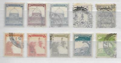 PALESTINE BEAUTIFUL LOT of MIDDLE EAST ISLAMIC STAMPS HISTORY, POLITICS 3161116