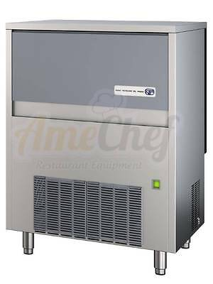 Commercial Ice Maker Built-In Undercounter,150 lbs, NSF, Italian, SL140, CUBE