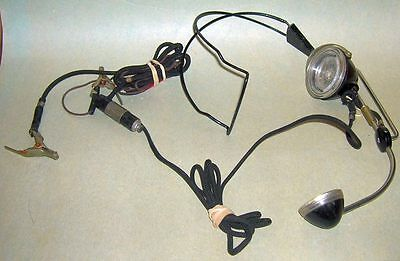 vintage Bell Systems Western Electric telephone lineman headset
